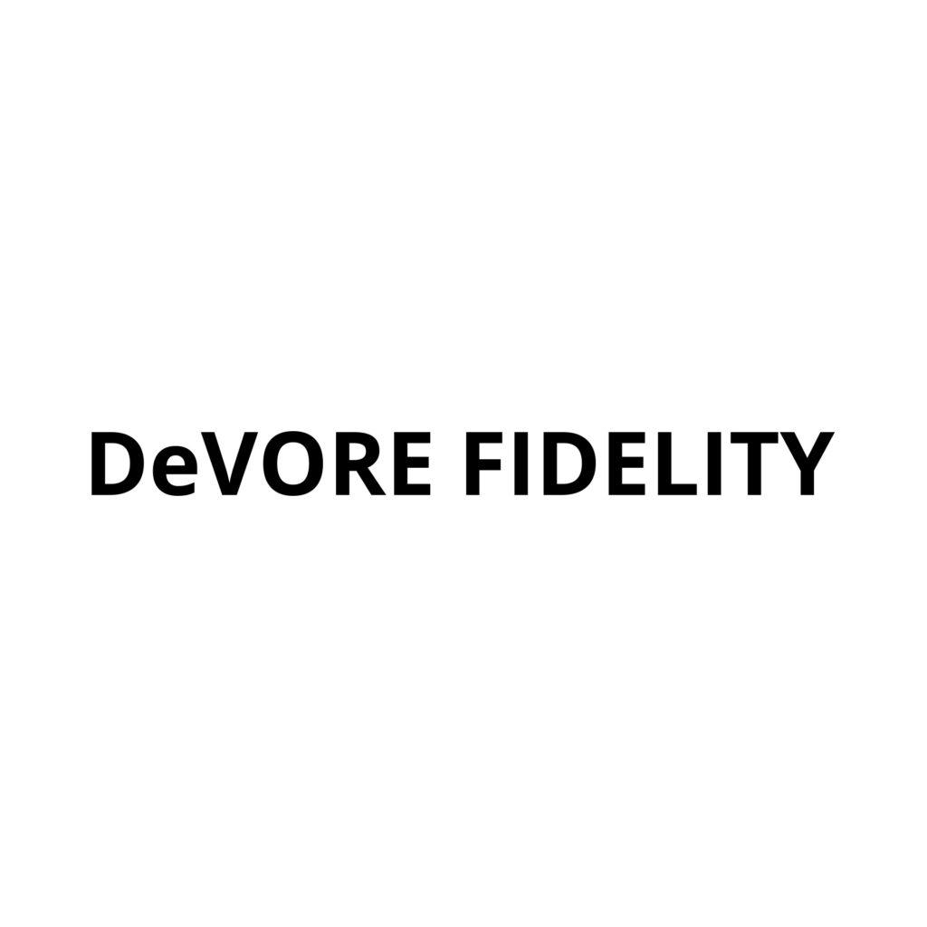 DeVore Fidelity Logo - AudioLife